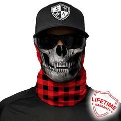 Бандана с черепом SA Lumberjack-Red