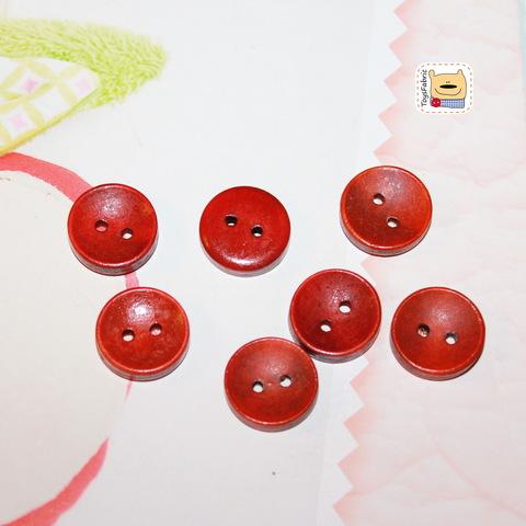 Пуговица BW5-C (рыжая)