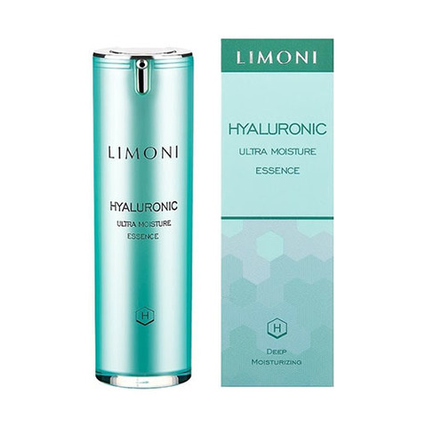 Limoni Эссенция для лица с гиалуроновой кислотой ультраувлажняющая Hyaluronic Ultra Moisture Essence 30мл