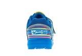 Кроссовки для мальчиков на липучках Фиксики, цвет синий. Изображение 4 из 5.