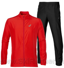 Костюм для бега Asics Woven red 2018 мужской 134091 0626-134101 0904