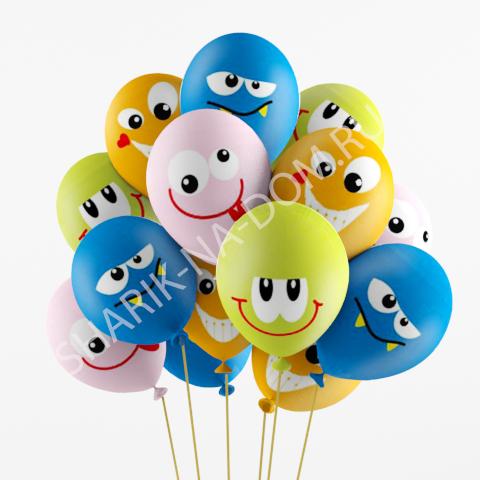 Гелиевые шарики с доставкой Шары Эмоции 2 Воздушные_шары_Злые_улыбки.jpg