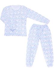 640-2 пижама детская, белая
