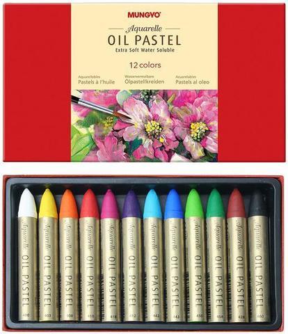 Набор масляной водорастворимой пастели 12 цветов