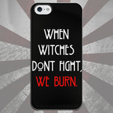 Чехол для iPhone 7+/7/6s+/6s/6+/6/5/5s/5с/4/4s WHEN WITCHES DONT FIGHT