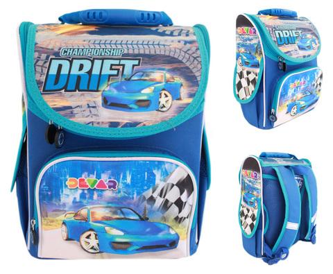 ec2529fd47bd 988106 Живой школьный ортопедический ранец от фирмы SMILE для мальчика Drift