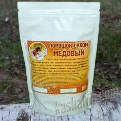 Медовый порошок - сухой мёд вкусная и полезная добавка в кашу, чай ... Купить в интернет-магазине Каша из топора