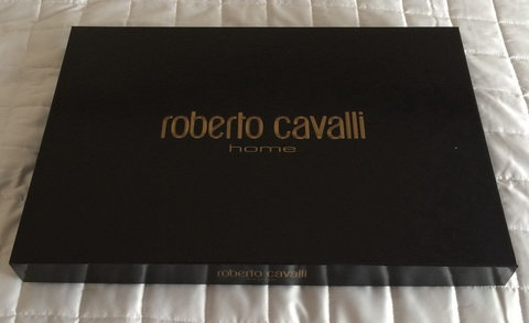 Постельное белье 2 спальное евро макси Roberto Cavalli Jaguar Biege