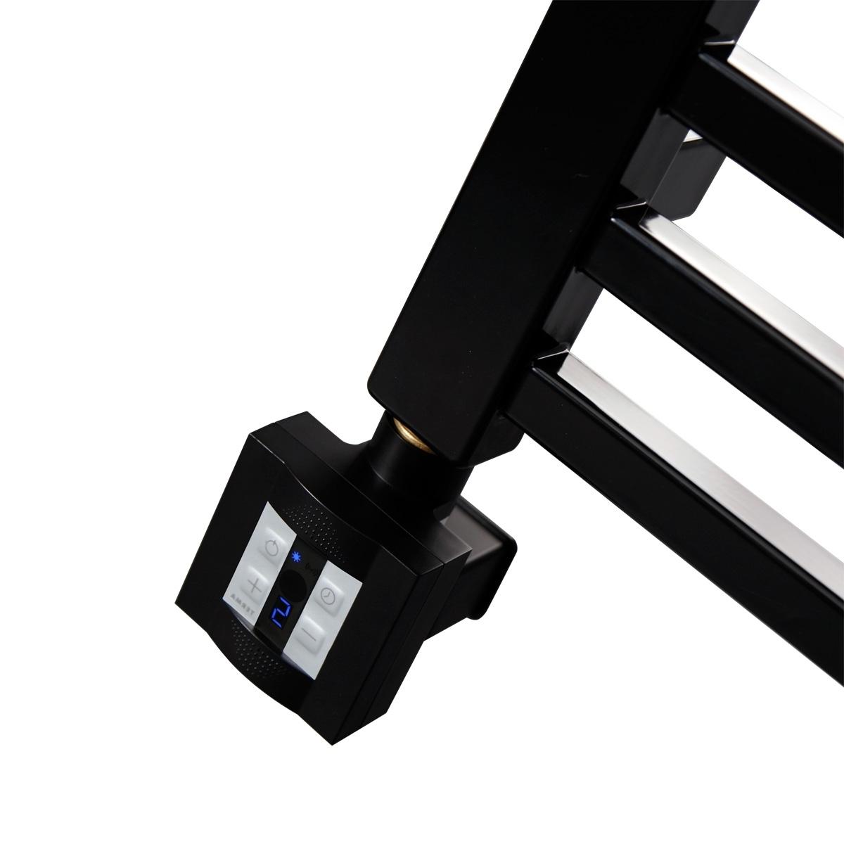 Тен для полотенцесушителя с блоком управления KTX - 4 черный