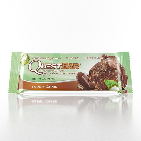 Quest Nutrition Quest Protein Bar Mint chocolate chank (Печенье с мятным шоколадом) 12 шт