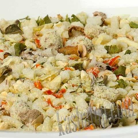 Суп рисовый с мясом 'Леовит', 500 г - 10 порций