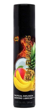 Разогревающий лубрикант Fun Flavors 4-in-1 Tropical Explosion с ароматом тропических фруктов - 30 мл. - Wet International Inc. Wet Fun Flavors 4-in-1 20427
