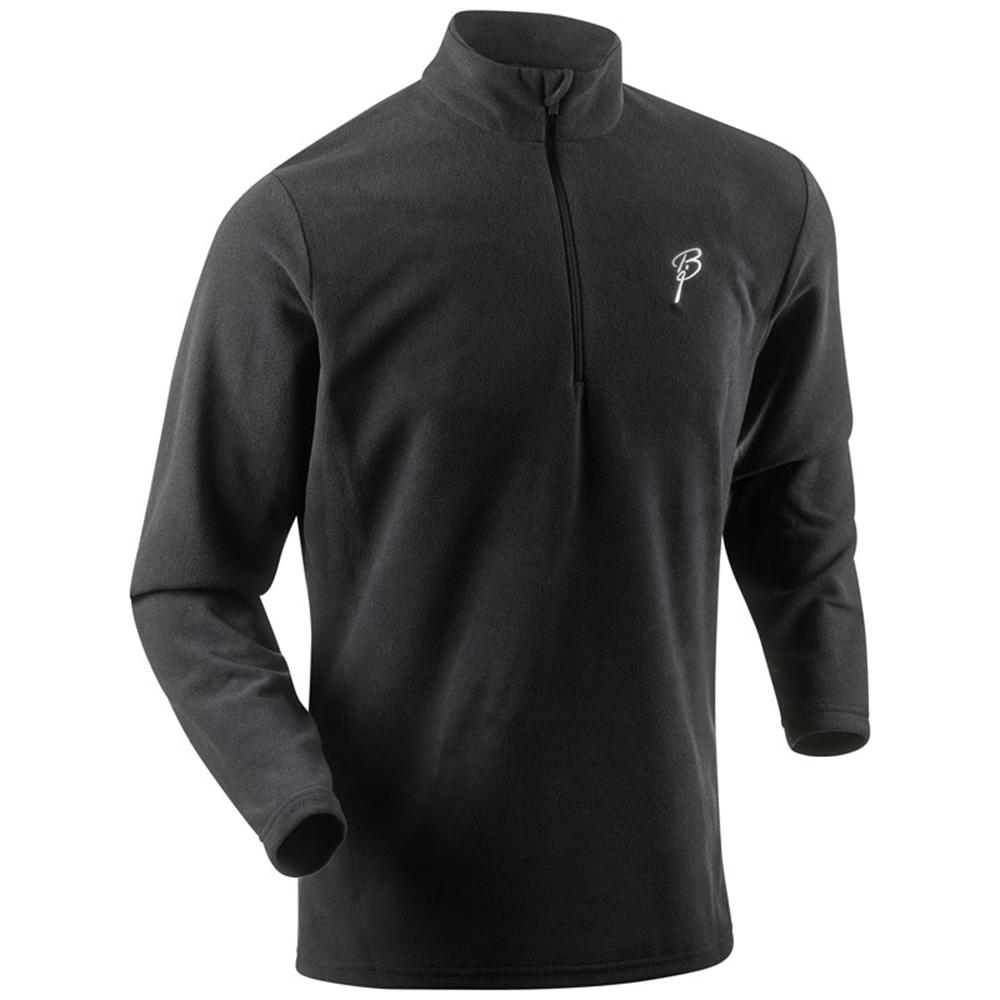 Мужская беговая рубашка Bjorn Daehlie Half Zip Drift (321195 99900) темно-серая