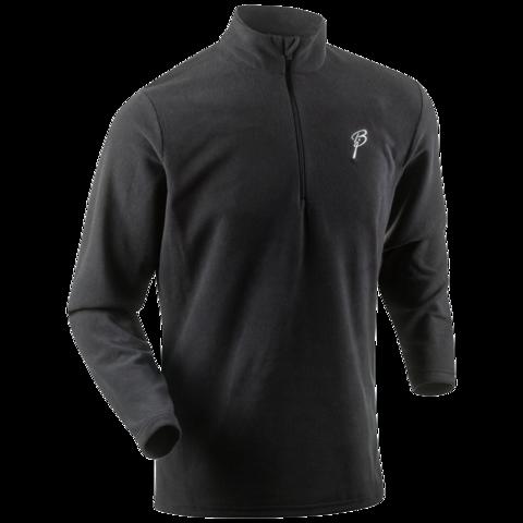 Рубашка беговая Bjorn Daehlie Half Zip Drift  мужская т.серый