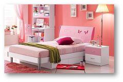 Тумбочка прикроватная Пикола (Piccola MK-4606-PI) Розовый-белый