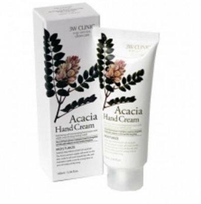 3W CLINIC Крем д/рук увлажняющий с экстрактом АКАЦИИ Acacia Hand Cream, 100 мл