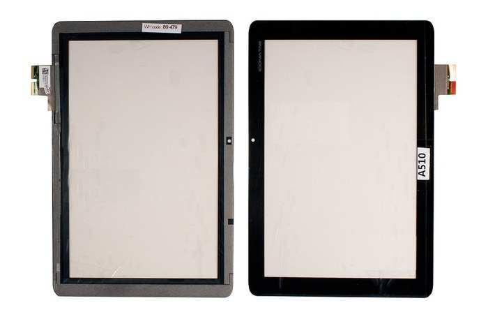 Сенсорное стекло тачскрин (touch screen) для планшета Acer Iconia Tab A700 A701 A510 A511 10,1 1280x800, ОРИГИНАЛ.