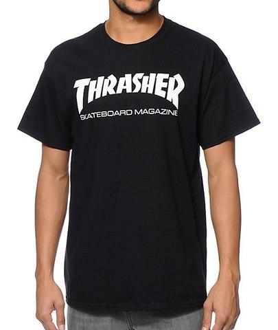 Футболка THRASHER Skate Mag Black
