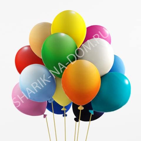 Разноцветные Воздушные шары разноцветное ассорти с гелием large_Ассорти-min.jpg