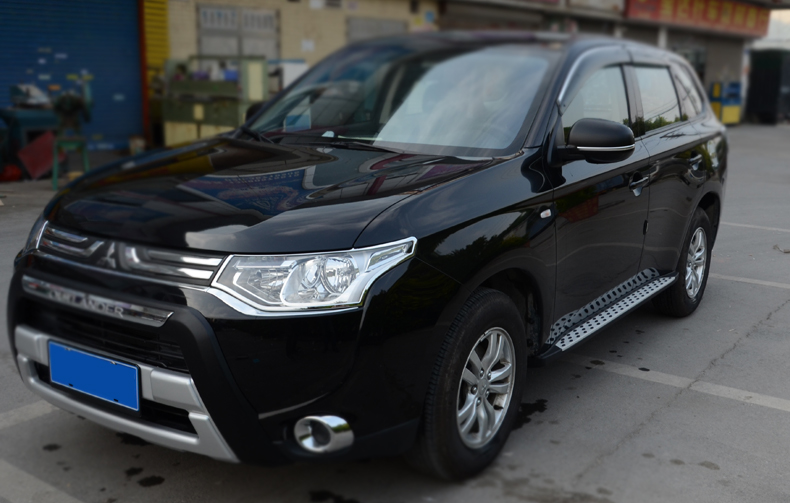 Пороги BMW Style Outlander imports для Mitsubishi Outlander 3 (2011 - 2018) imports dfa200aa160 dfa150aa160 100