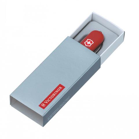 Нож-брелок Victorinox Classic Signature Lite, 58 мм, 7 функций, красный