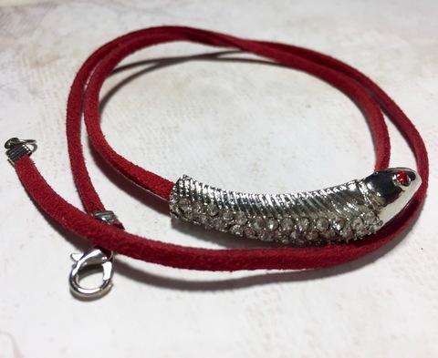 Комплект для изготовления кожаного браслета с декором ()