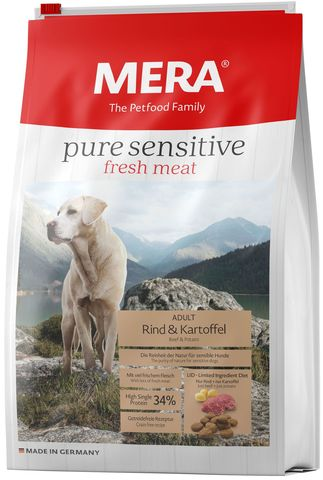 Mera Pure Sensitive fresh meat Adult Rind&Kartoffel High Protein
