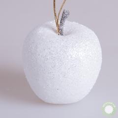 Яблоко новогоднее белое 216052 D5см