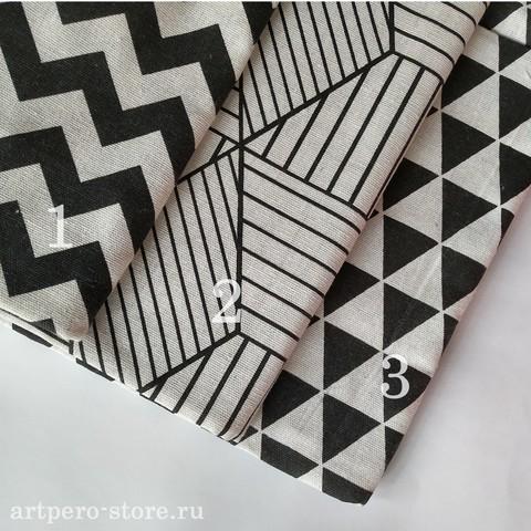 Ткань хлопок/лен (выбрать размер)