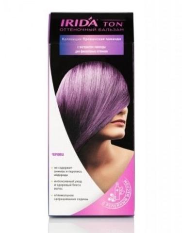 Irida Irida Ton Оттеночный бальзам для окраски волос Черника 2*25мл