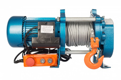Лебедка TOR ЛЭК-500 E21 (KCD) 500 кг, 220 В с канатом 100 м