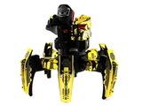 Keye Toys Space Warrior. Радиоуправляемый боевой робот-паук (лазер, диски) 2.4GHz (золотой) + АКК и ЗУ