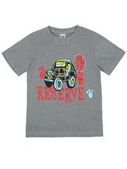 ELBK14-100-26 футболка детская, серая
