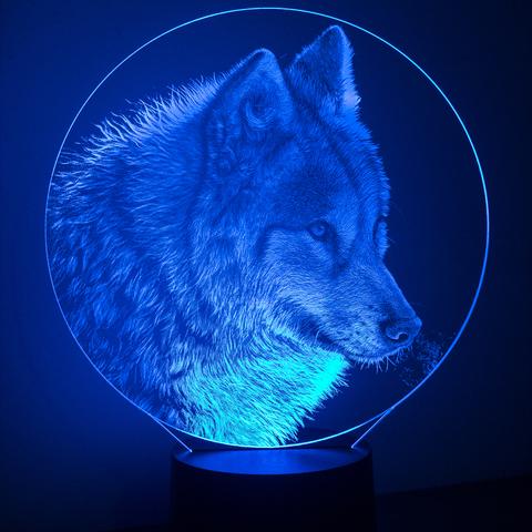 Монгольский волк