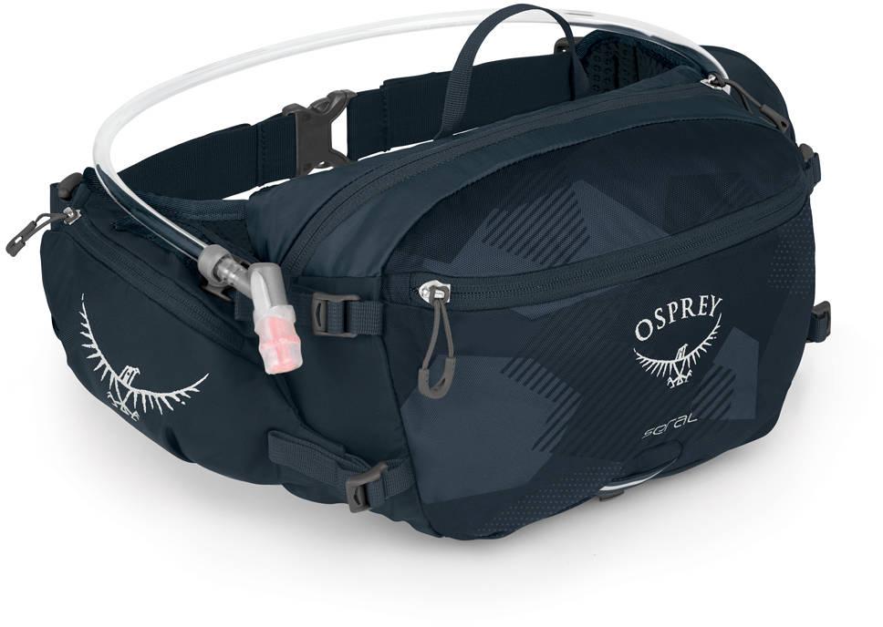 Сумки для бега Сумка поясная Osprey Seral 7 Slate Blue Seral_S19_Side_Slate_Blue_web.jpg