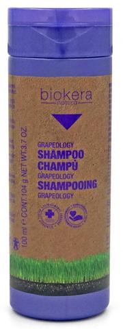 Шампунь c маслом виноградной косточки, Biokera Grapeology SALERM , 100 мл.