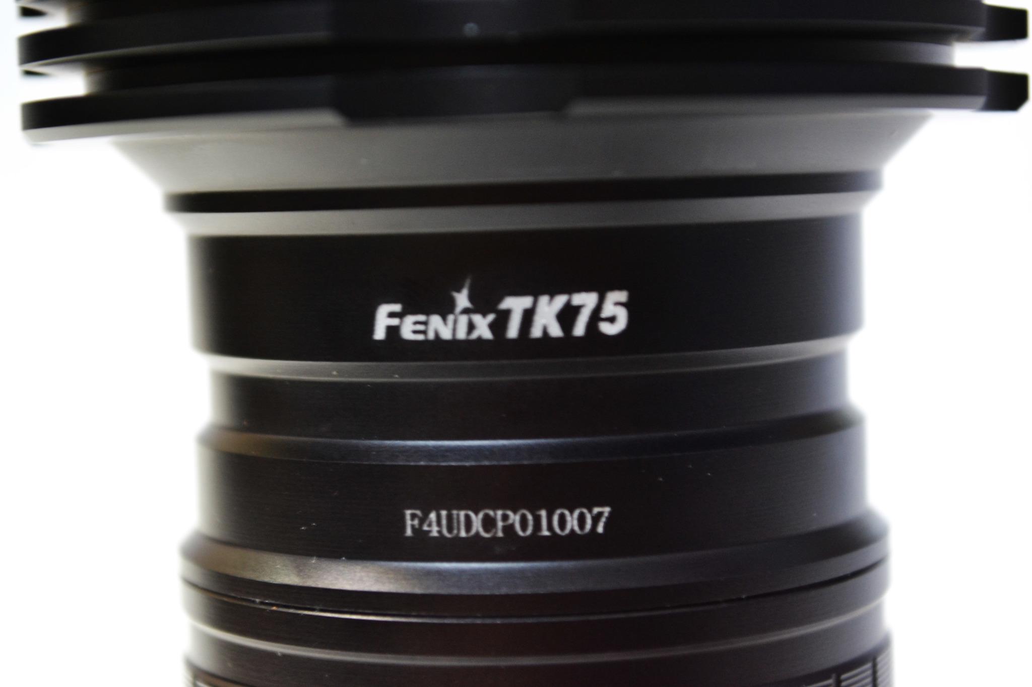 Фонарь Fenix TK75