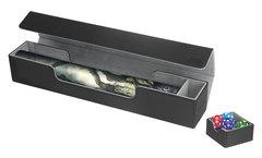 Ultimate Guard - Черная кожаная коробочка для игрового коврика