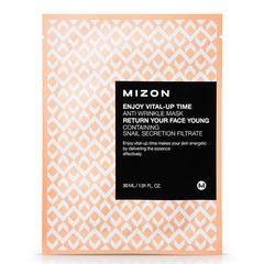Mizon Enjoy Vital Up Time Anti Wrinkle Mask - Маска листовая для лица антивозрастная