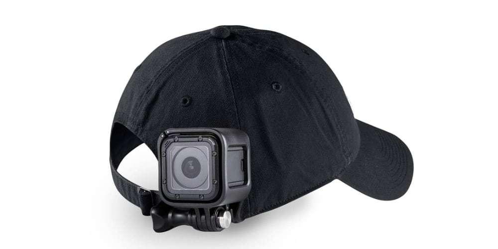 Клипса-зажим для камер GoPro на кепке