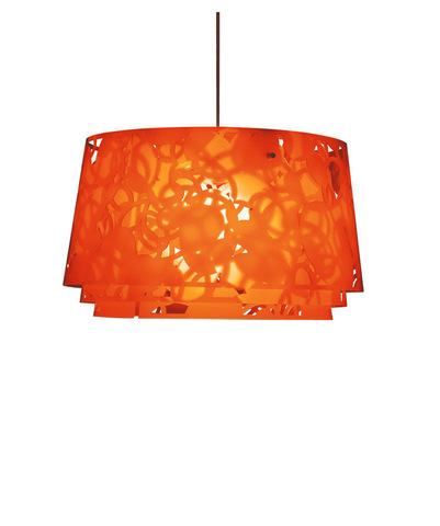replica Louis Poulsen Collage pendant lamp 45 cm  (orange)