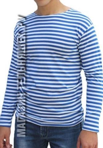 Тельняшка ВДВ облегченная (голубая полоса)