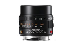 Leica APO-Summicron-M 50 mm f/2 ASPH. Black (чёрный)