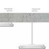 Монтаж светильников EXIT к потолку на жестком подвесе