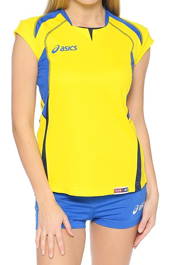 Женская волейбольная форма Asics Set Olympic Lady (T211Z1 QV43) желтая