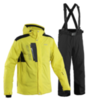 Мужской горнолыжный костюм 8848 Altitude 713013-712208 желтый-черный