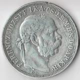 P4488, 1909, Австро Венгрия, 5 корон Франц Иосиф