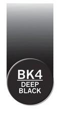 Чернила для маркеров Chameleon глубокие черные BK4, 25 мл