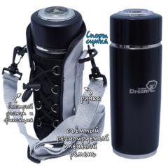 Турмалиновый фласк Rawmid Dream flask в спортивной сумке