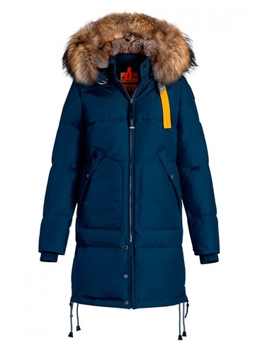 Пуховик Parajumpers Long Bear Marine (Синий)
